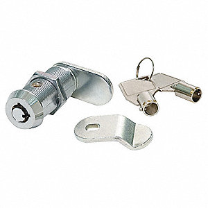 TUBULAR KEY CAM LOCK,KEYED ALIKE,CH