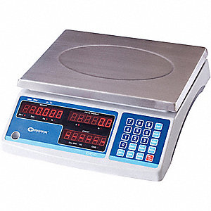 COUNTING SCALE,SS PLATFORM,6KG/15 L