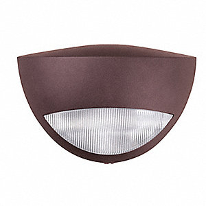 Emerg. Light,2W,7In H,3-7/8In L,10-7/8In