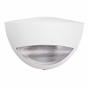 "3-7/8"" x 10-7/8"" x 7"" LED Emergency Light, Wall Mounting"