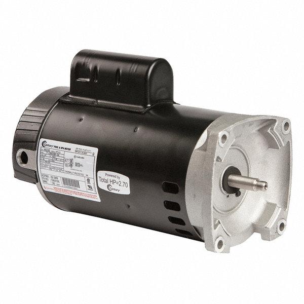 Century 2 hp pool and spa pump motor capacitor start for Century pool and spa motor