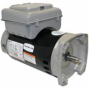 POOL PUMP MOTOR,1,1/10 HP,3450/1725