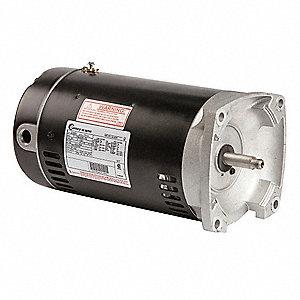 Century pool motor 3 hp 3450 rpm 208 230 460vac 16u454 for 3 hp spa pump motor