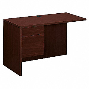 Desk Pedestal Return,Left,Mahogany