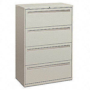 Cabinet,36x53-1/4x19-1/4 In,Light Gray