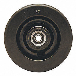 Caster Wheel,Phenolic,10 in.,2900 lb.