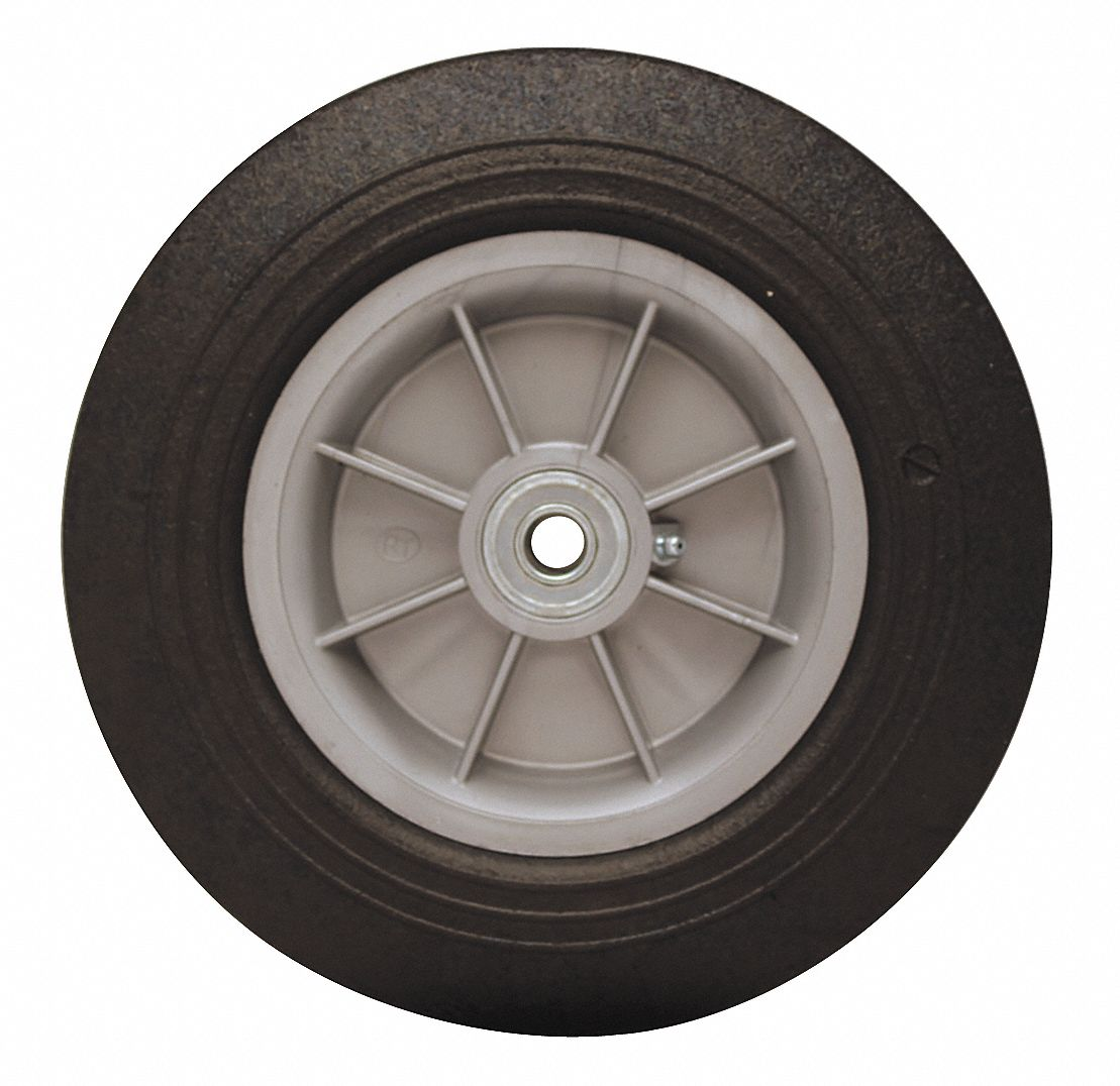 Pneumatic And Solid Rubber Wheels