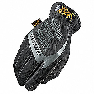 Mechanics Gloves,Black,XL,PR
