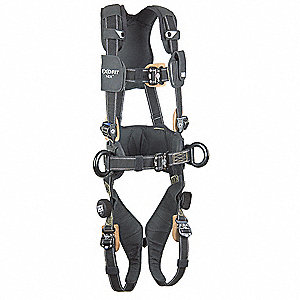 ExoFit NEX ™ Full Body Harness with 420 lb  Weight Capacity, Black, M