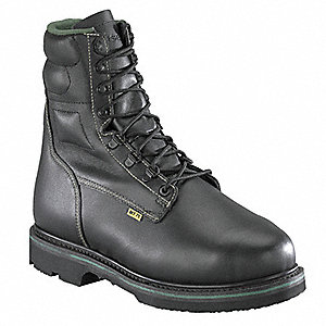 Heat-Resistant Work Boots, Size 12, Toe Type: Steel, PR