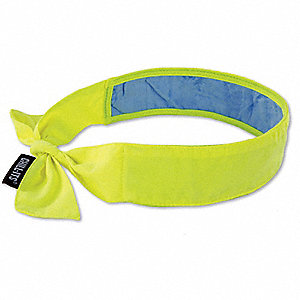 Cooling Bandana,Lime,One Size