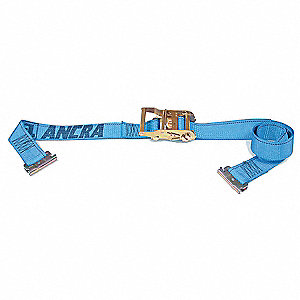 Logistic Ratchet Strap,20ft x 2In,1000lb