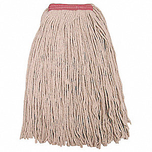 Quick Change, Side-Gate Cotton String Mop Head, Beige