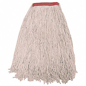 Quick Change, Side-Gate Polyester String Wet Mop Head, Beige