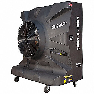 Portable Evaporative Cooler,14,500 cfm