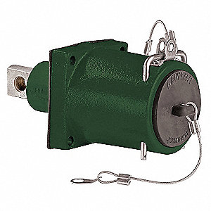 3R Standard Clevis Pin Receptacle, Female, Green