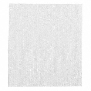 Luncheon Napkin,White,Full Fold,PK6000