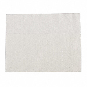 "13"" x 12"" 1-Ply Plain Dispenser Napkin, White&#x3b; PK6000"