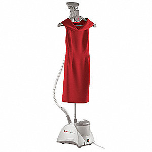 Electric Upright Steamer, 2.5L, 11 lb., Power Cord Length 5-3/4 ft., Self-Cleaning No