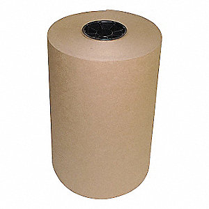 KRAFT PAPER,30 LB.,BROWN,12 IN. W