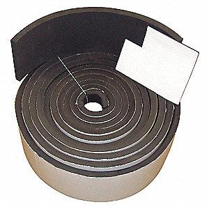 SPONGE ROLL,NEO-EPDM-SBR,1/4X2 IN,5