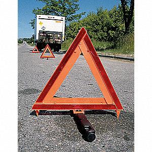 WARNING TRIANGLE,HIGHWAY,ORANGE