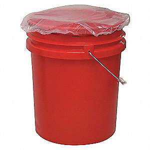 PAIL DUST COVER,9.25 IN,PK100