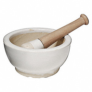 MORTAR AND PESTLE,500 ML