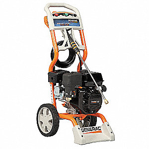 Residential Pressure Washer, Cold Water Type, 2500 psi, 2.3 gpm