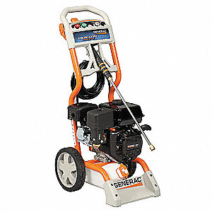 Pressure Washer, Cold Water Type, 2700 psi Operating Pressure, 2.3 gpm Flow Rate