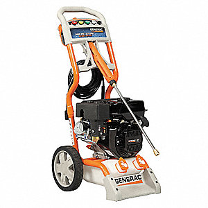 Residential Pressure Washer, Cold Water Type, 3000 psi, 2.7 gpm