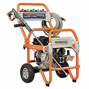 Commercial Pressure Washer, Cold Water Type, 3500 psi, 3.6 gpm