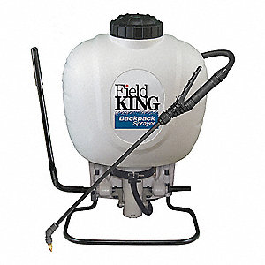 BACKPACK SPRAYER,4 GAL.,POLY,160 PS
