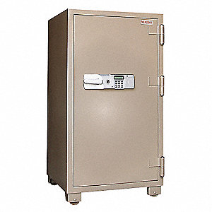 Commercial Fire Safe,3.6 cu ft,Tan