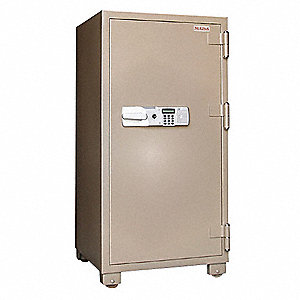 Commercial Fire Safe,12.2 cu ft,Tan