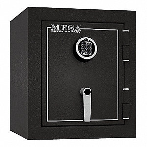"17-1/4"" x 18-3/4"" x 20"" Fire Safe, Gray&#x3b; Holds Documents, Valuables, Passports, Birth Certificates,"