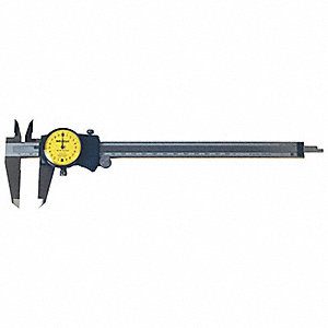 0-200mm Range Stainless Steel Metric Dial Caliper with 0.02mm Graduations