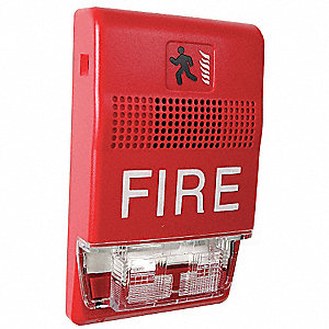 HORN STROBE,MARKED FIRE,RED