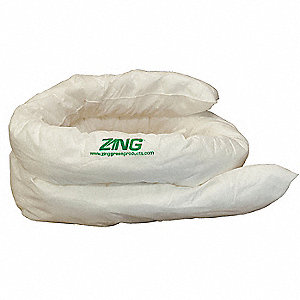 Absorbent Sock,12 gal.,120 In. L,PK3