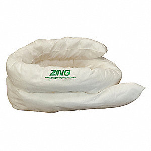 Absorbent Sock,21 gal.,120 In. L,PK4