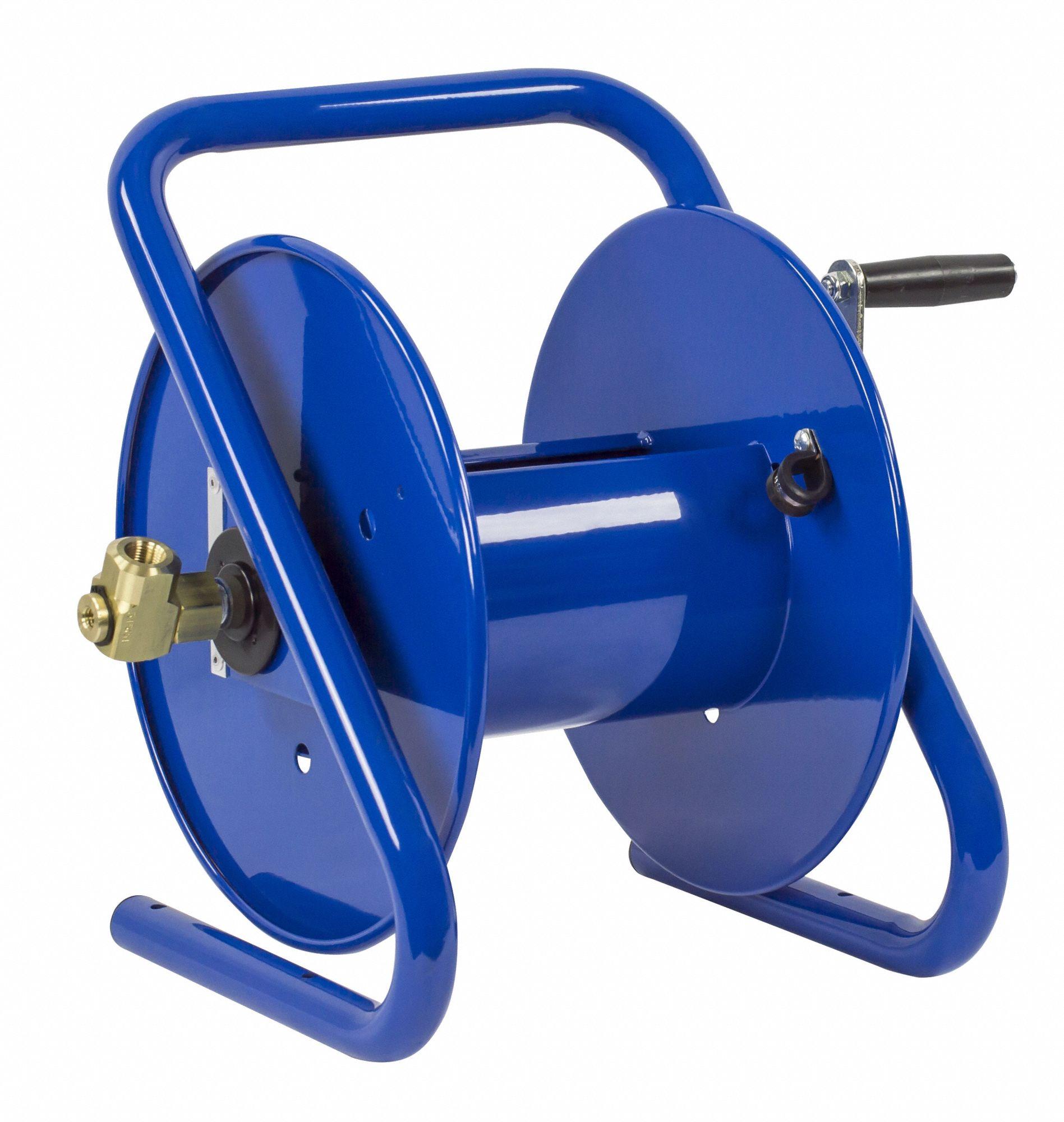 Capacity Viton Seals 100ft 4000 PSI Model Number 112-3-100-BVXX x 3//8in Coxreels Compact Hand-Crank Hose Reel