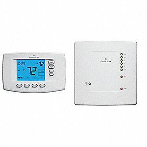 THERMOSTAT,LOW VOLTAGE,PROG,4H/2C