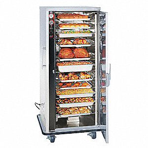 "33-1/4"""" x 32-3/4"""" x 69"""" Hmdfd Holding  - Full Size Food Service Carts"