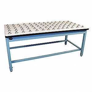 "Workbench, Laminate, 36"" Depth, 30"" Height, 72"" Width, 1000 lb. Load Capacity"