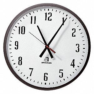 CLOCK,18 IN DIAMETER,ELECTRIC