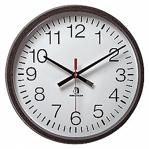 WALL CLOCK 24 HOUR BATTERY