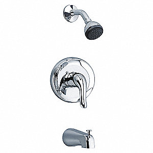 BATH AND SHOWER TRIM KIT,CHROME