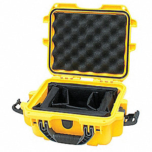 Case,12-1/2 In Lx24 In Wx6 In D,Yellow