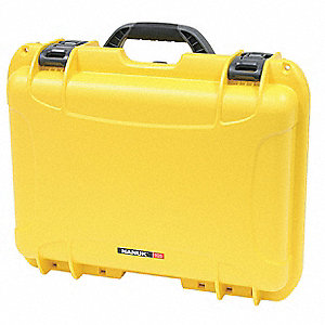 Case,18-11/16 In Lx24 In Wx7 In D,Yellow