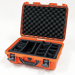Case,18-11/16 In Lx24 In Wx7 In D,Orange
